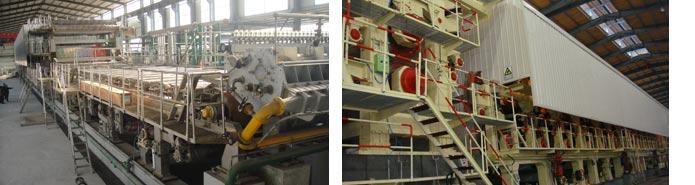 Corrugated-paper-board-making-machine