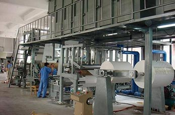 30t/18h coating board paper processing line