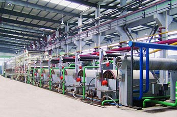 3600/500 fluting paper processing machine