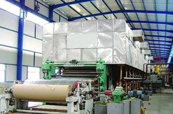 7T kraft paper production line Zambia