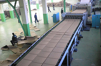 Corrugated paper manufacture line Saudi Arabia