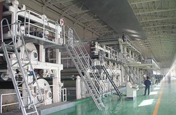 Cultural paper machine line