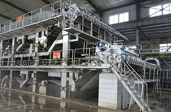 High quality testliner paper machine line Syria