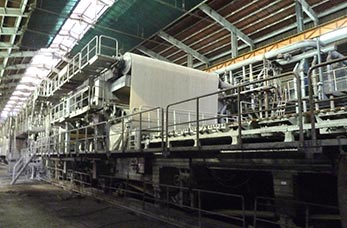 Kraft liner board machine line
