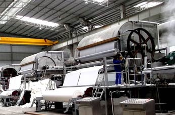 Toilet/tissue paper machine manufacture line India