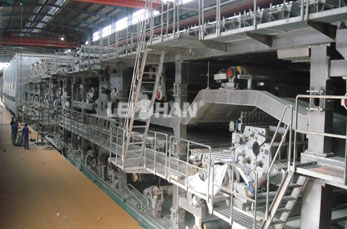 New kraft paper process line In India