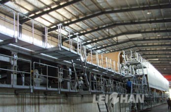 3400 Fourdrinier multi-cylinder Corrugated paper machine