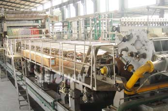 Fluting Paper Making System of Leizhan In Egypt