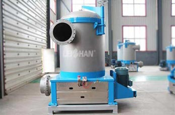 Inflow Pressure Screen for Paper Pulping System