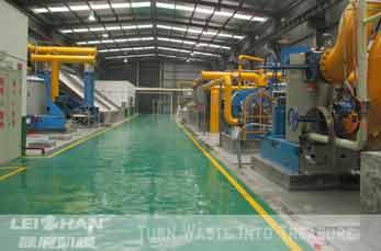 300T/D White Board Paper, Fluting&Kraft Paper Line Hubei