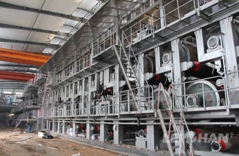 Forming/Wire Section of Paper Machine