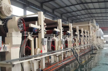 Paper Cone Making Line