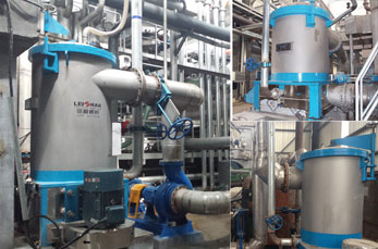 Paper Mill Pulp Screening Inflow Pressure Screen
