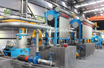 Wood Pulp Processing Plant