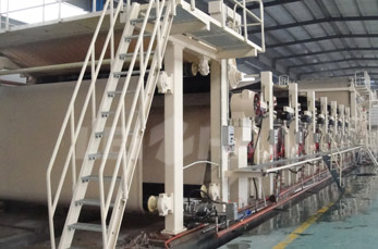 Cylinder Mould Type Tube Paper Machine