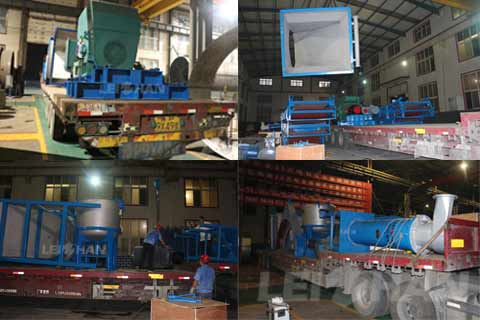 pulp equipment for corrugated paper making