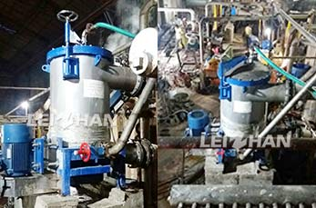 1㎡ Inflow Pressure Screen in India Paper Mill
