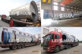 304 Stainless Steel Drum Pulper for Paper Mill Egypt