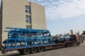 Bale Breaker And Chain Conveyor Delivery to Saudi Arabia
